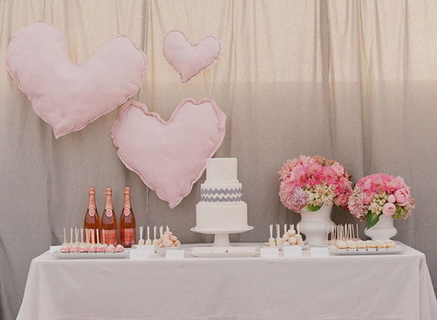 Pink inspired Dessert Table