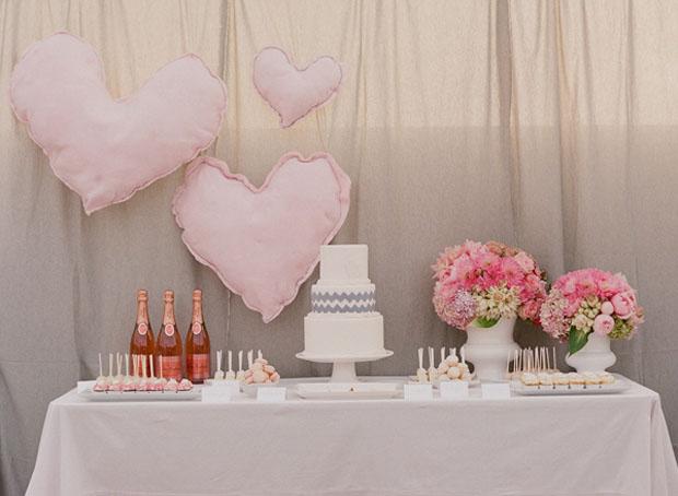 Pink inspired Dessert Table