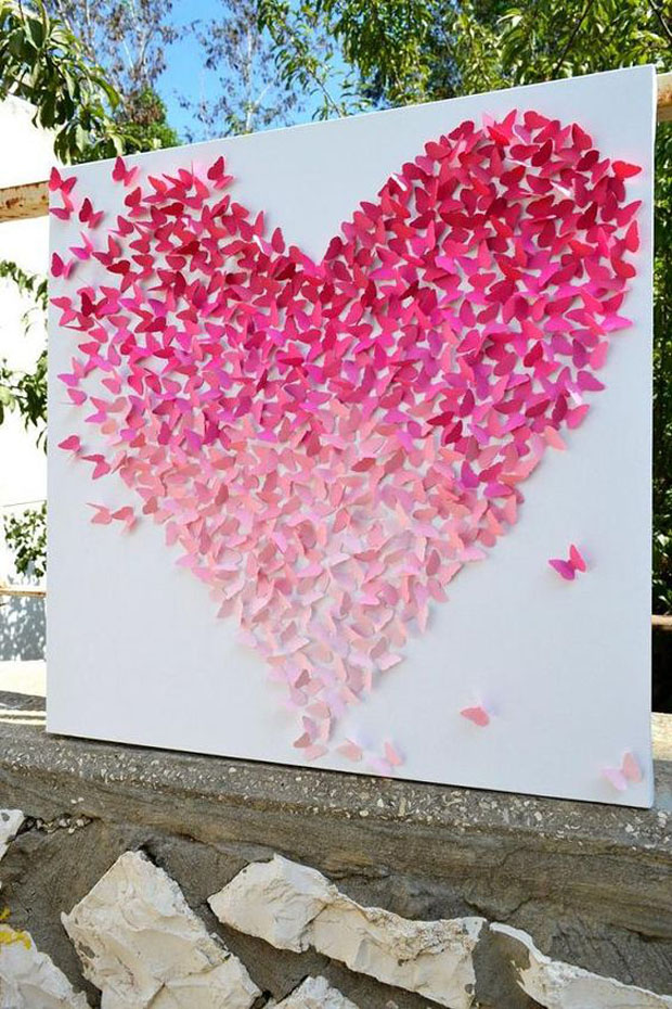 Heart-Shaped Backdrop
