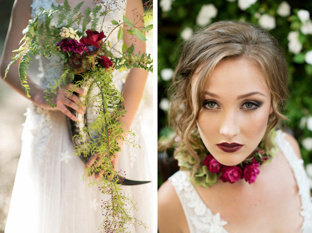 bride forest styled shoot