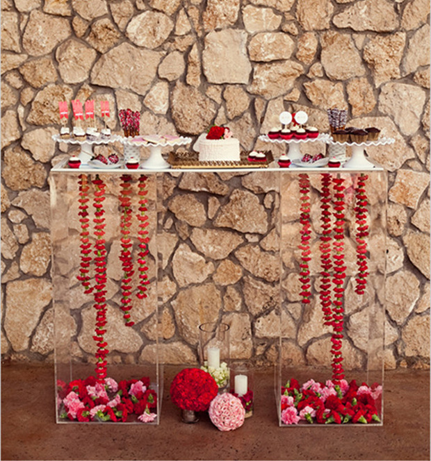 pink-and-red-dessert-table