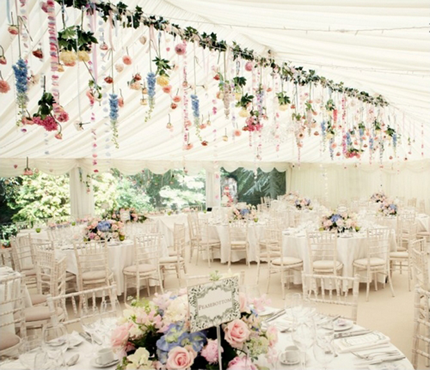 Weddingsonline Real Weddings: Incredible Hanging Centrepieces You Will Love