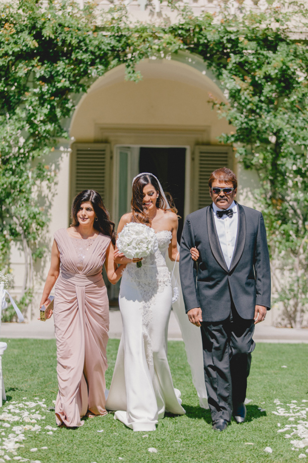 Real Wedding Sharlene and Craig's Breathtaking Fairytale Venice Wedding