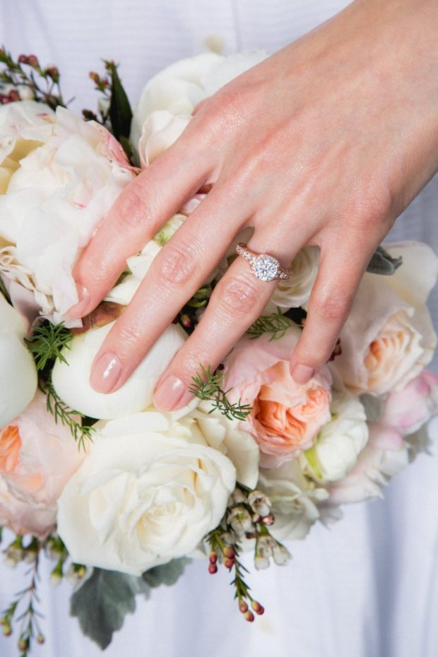 bridal nail trends 2017- Nude