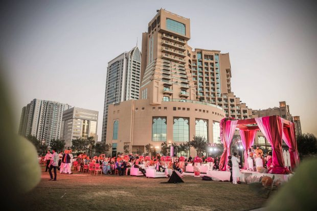 Ajman, UAE Fairmont Hotel Wedding Venue