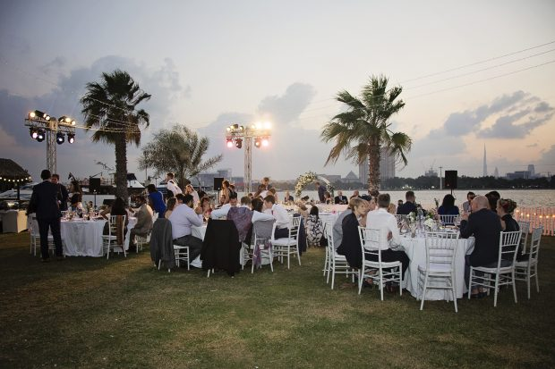 dubai wedding reception