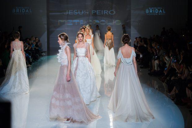 Jesus Peiro Barcelone Bridal Week 2017