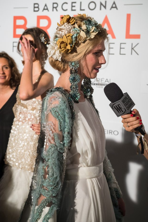 Jesus Peiro Barcelone Bridal Week 2017 Accessories