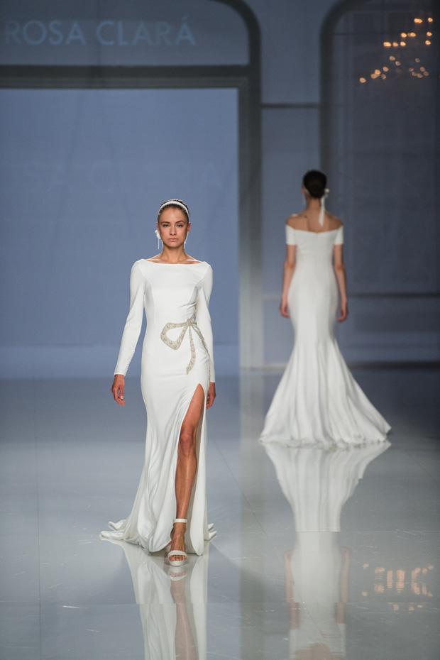 Barcelona Bridal Fashion Week 2017 Trends Slits