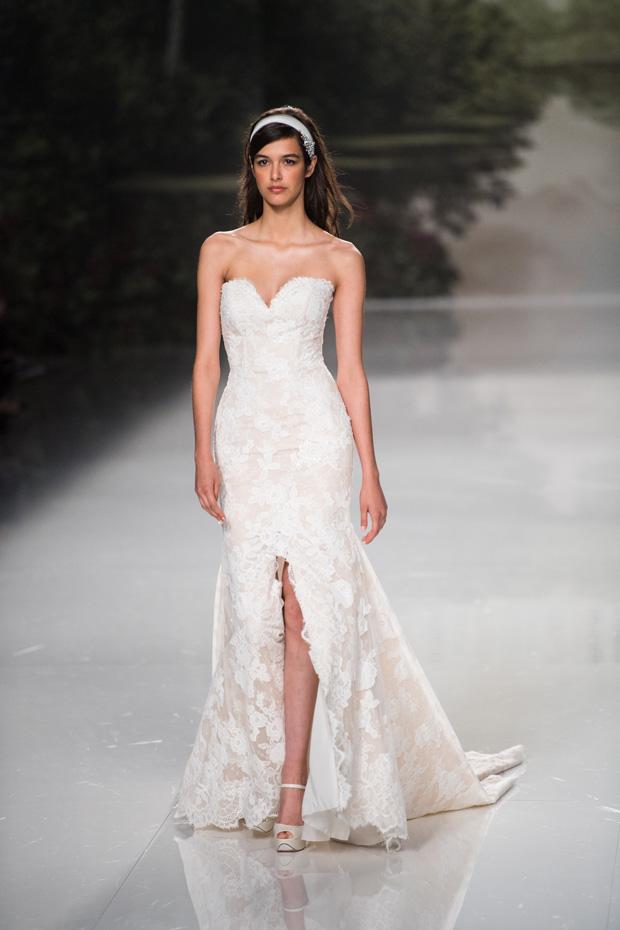 Barcelona Bridal Fashion Week 2017 Trends splits