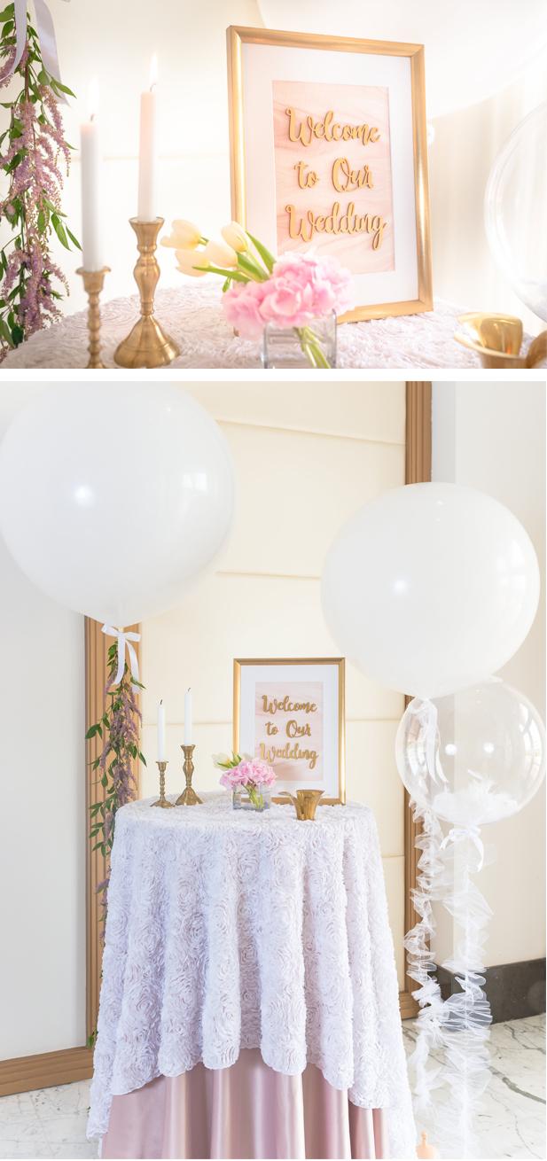 Wedding Decor Styled shoot