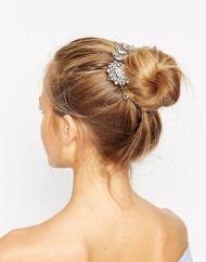 Aldo Rhinestone Bun Surround