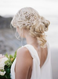 Loose Tousled Updo