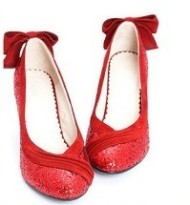 Glittery Red Shoes