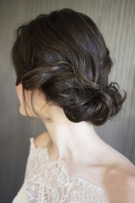 Twisted Bridal Updo