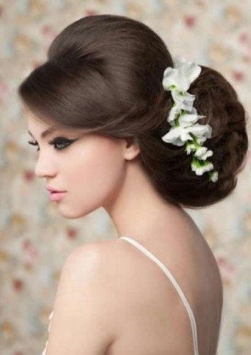 Big Wedding Hair Low Updo (9th Oct 2014)