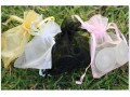 Clean Heels delivered in pretty organza bags
