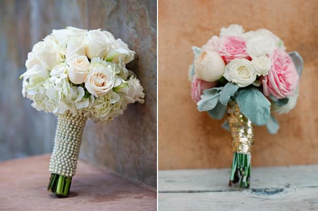 10 Creative Ways To Tie Your Bridal Bouquet