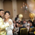 Indian couple dance at their wedding in Queens NY