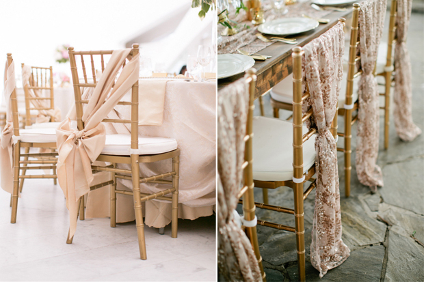 12 Chic Wedding Reception Chair Cover Ideas