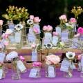 wedding flowers for escort cards