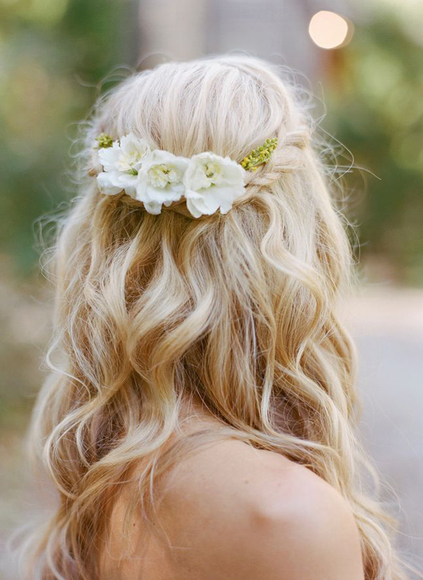 hair down wedding styles 10 of the best half up half wedding hairstyles with 1216