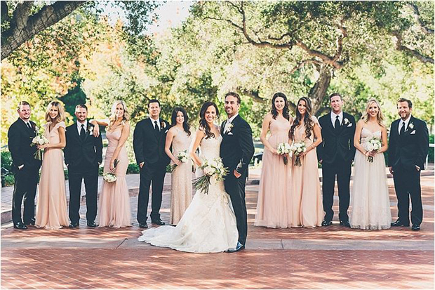 uneven bridal party