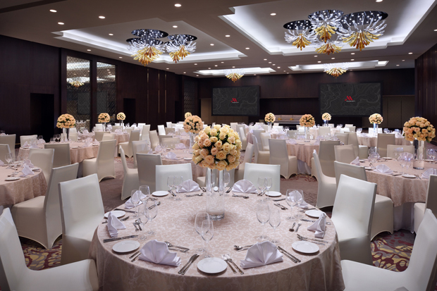Marriott Grand Ballroom Abu Dhabi Wedding Venue