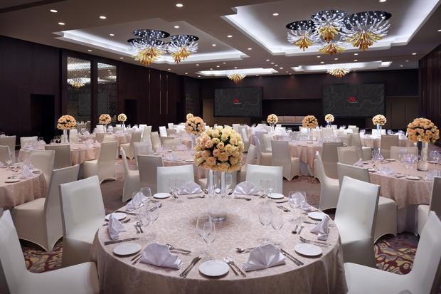 Wedding Venue Spotlight A Qa With Marriott Hotel Downtown Abu