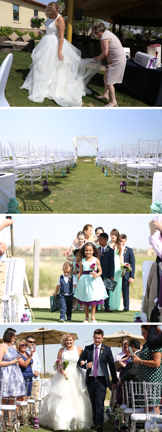 Real Wedding venue Abu Dhabi Saadiyat Beach Golf Club