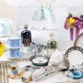 White Almonds Wedding registry