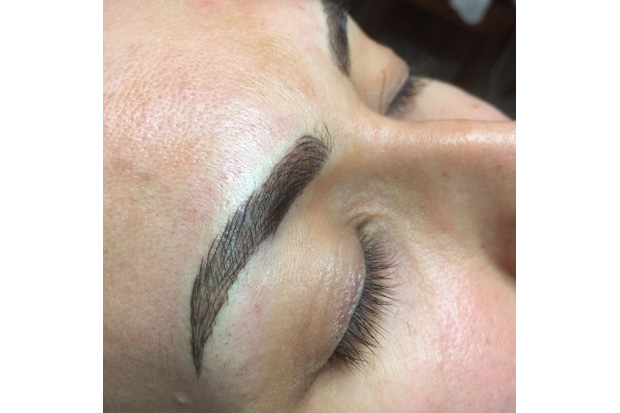 Bridal Beauty Microblading Eyebrows