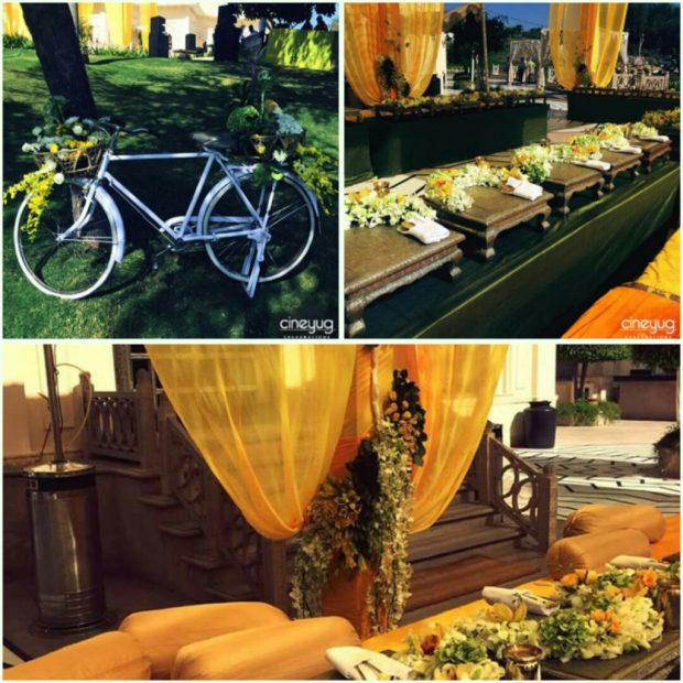 Indian Wedding Colour trends Yellow
