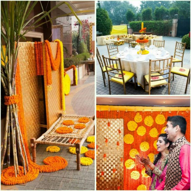 Indian Wedding Colour yellow Orange