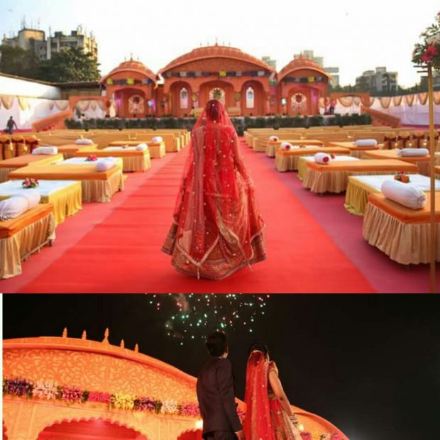 Mughal Saffron Wedding Colour trend