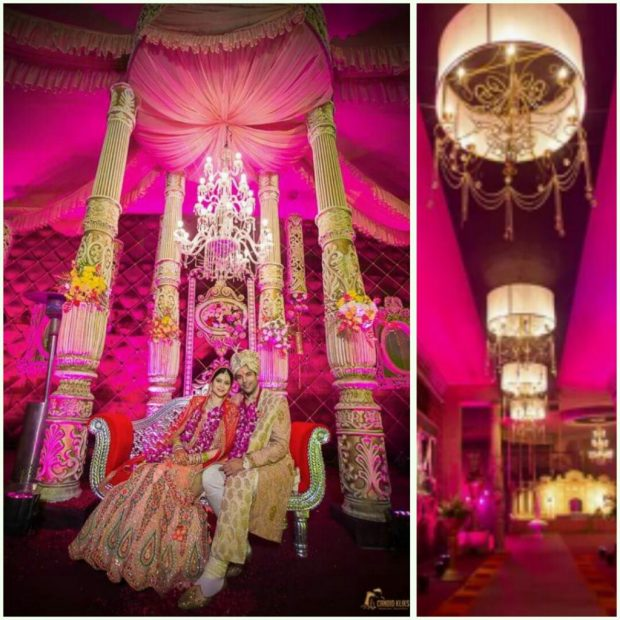 magenta wedding india Color trend