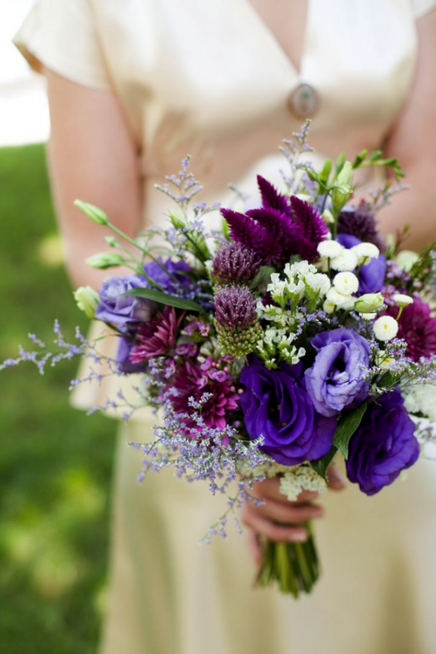 Pantone 2018 Ultra Violet Wedding Inspiration