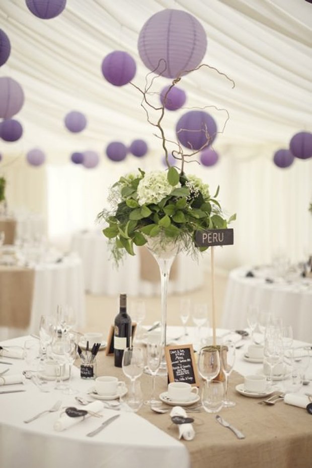 Pantone 2018 wedding decor