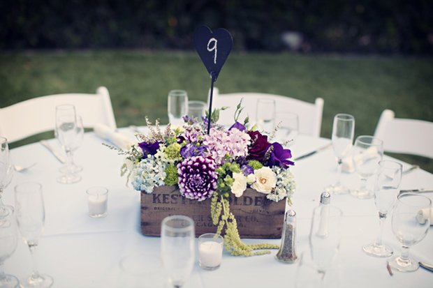 pantone 2018 purple-wedding in Planters