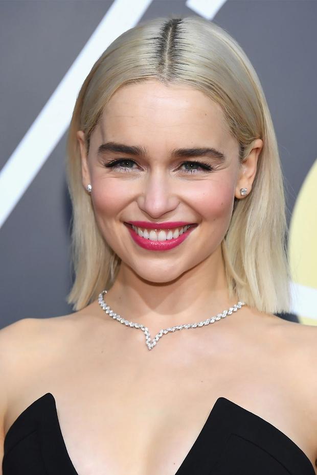 Emilia Clarke Wedding Beauty & Hair