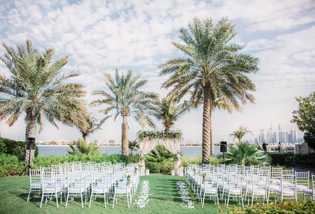 Kempinski Palm Jumeirah Real Dubai Beach Wedding