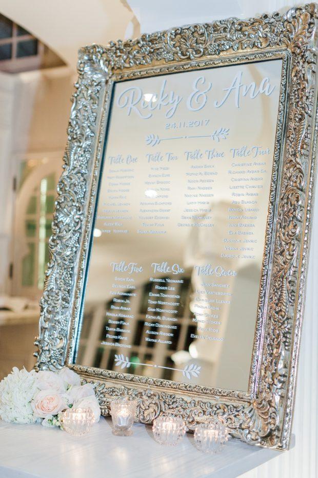 Kempinski Palm Jumeirah Real Dubai Wedding Decor