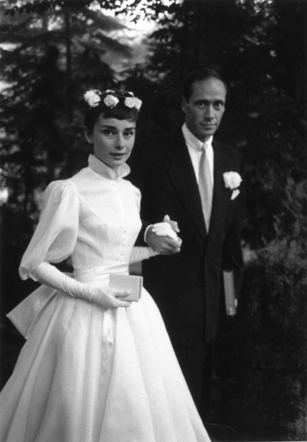 Audrey Hepburn Celebrity Bride