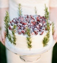 Blueberry Topped Cake