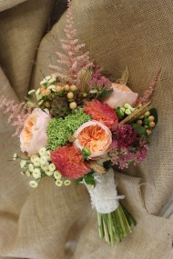 Blush Pink Winter Mix Bouquet