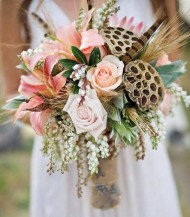 Bohemian Feather Bouquet