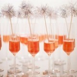 Champagne Tinsel Stirrers