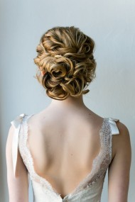 Curl & Tousled Updo