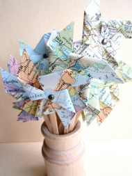 Mini Map Pinwheels