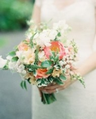 Orange & White Bouquet